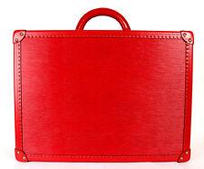 LOUIS VUITTON Carmin Red Epi BISTEN 50 Alzer Hard-Sided Suitcase Trunk