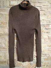$2,675. GUCCI 100%CASHMIRE RIBBED TURTLENECK SWEATER  ITALY SIZE XXXL