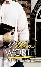 A Man's Worth (Urban Christian)-ExLibrary
