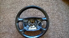 AUDI A6 C5 2.5 TDI AVANT/ESTATE BLACK LEATHER STEERING WHEEL 4b0419091