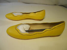 Juicy Couture Women's Jill Flats Shoes Yellow Size 8M