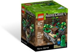 LEGO 21102 CUUSOO Minecraft Micro World - Brand New Sealed Box Free shipping