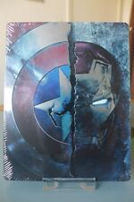 Blu ray steelbook Captain America Civil War 2D/3D identique Fnac New Neuf VF
