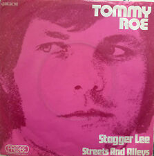 "7"" 1971 RARE IN VG++ ! TOMMY ROE : Stagger Lee"
