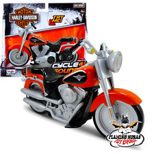 HARLEY DAVIDSON FLSTFI FAT BOY LIGHTS & SOUNDS MOTORBIKE | MOTORCYCLE TOY
