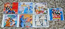 Lot of 7 PC Engine CD Japanese Import RPG Games US Seller Emerald Dragon Slayer