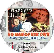 No Man of Her Own  - Barbara Stanwyck, John Lund  Film on DVD 1950