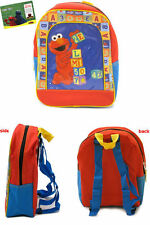 ELMO BACKPACK and plate, bowl & cup!