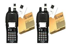 PAIR IC-V85  ICOM radio VHF136-174MHz Two-way RADIO transceiver walkie talkie 7W