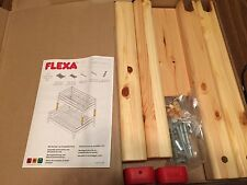 FLEXA #7156813 - NATURAL EXTENSIONS TO TWIN OVER FULL BUNK BED - H:20 1/4 - NIB