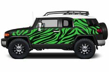 Custom Vinyl Decal Safari Wrap Kit for Toyota FJ Cruiser Parts 07-14 Grass Green