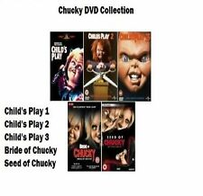 CHUCKY COMPLETE COLLECTION DVD 5 DISC Child's Play 1 2 3 4 5 Seed / Bride Of New