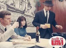 ANNA KARINA JEAN-LUC GODARD MADE IN USA  1966 VINTAGE PHOTO ORIGINAL #4