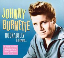 JOHNNY BURNETTE - ROCKABILLY & BEYOND (NEW SEALED 2CD)