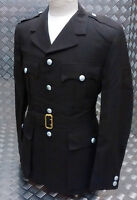 Genuine Military Issue Parade Dress Uniform Jacket  And Belt Brown -  Un-issued