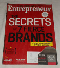 Entrepreneur Magazine April 2013 Secrets of 7 Fierce Brands 20 Logos We Love