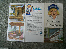 ANTIQUE DUTCH BOY PAINT FAN COLOR DECK CHART SUBSIDIARY of SHERWIN WILLIAMS