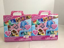 2 New Disney Princess Sticker Kits Foldable Repositionable Party Favors Gifts
