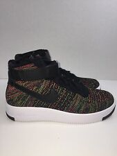 "Nike AF1 Air Force 1 Ultra Flyknit Mid ""Multi-Color"" (817420-002) Size 7"