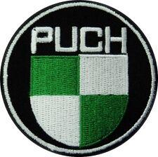 """Bügel-Aufnäher/Patch """"Puch"""" Rund (Tg)"""