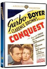CONQUEST (1937 Greta Garbo, Cahrles Boyer)  Region Free DVD - Sealed