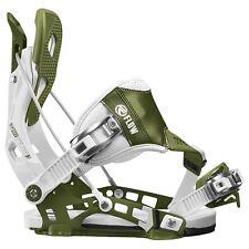 Flow NX2 Hybrid White/Green 2017 Snowboard Bindings XL