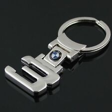 New BMW 3 Series Style Car Keychain Men BMW LOGO Part Collect Key Ring Metal