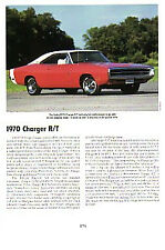 1970 Dodge Charger RT Article - Must See !!