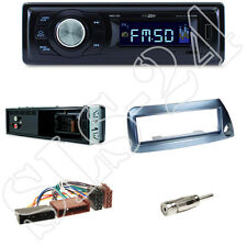 RMD021 Caliber Autoradio + Ford KA (RBT) 09/96-08/08 Blende blau + ISO Adapter