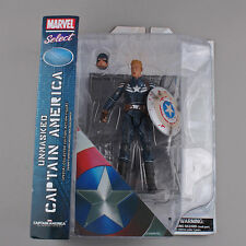 MARVEL SELECT THE AVENGERS - FIGURA CAPITÁN AMÉRICA THE WINTER SOLDIER 18cm 7""