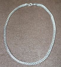 Stainless Steel Men's Large Box Curb Chain*22 inch Silver Necklace*Brand New