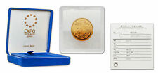 Japan 2005 Aichi Coin Expo 10,000 Yen 1/2 oz Gold Coin with COA & Box