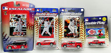Ken Griffey/Cincinnati Reds 4 Piece Plastic Diecast Vehicle Set w/Trading Cards
