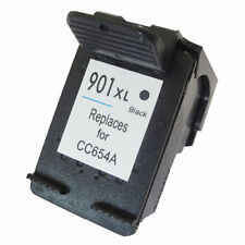 HP 901 XL Refilled Black Ink Cartridge CC654AE HP901 for Officejet J4550 J4580