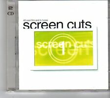(FH41) Screen Cuts, 2CD, 40 tracks various artists - 2002 CD
