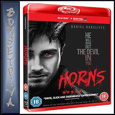 HORNS -   Daniel Radcliffe **BRAND NEW BLU-RAY**
