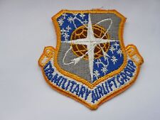 RAF/USAF squadron  cloth patch  172 nd military  airlift  group