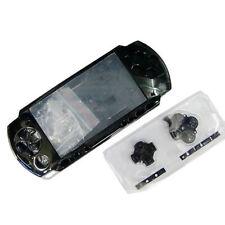 Black Full Housing Shell Faceplate Case for PSP 2000 Slim&Lite