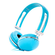 STARS PATTERN CHILDRENS KIDS OVER THE HEAD HEADPHONES FOR MP3 TV IPAD IPOD BLUE