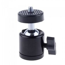 "Pro 360 Swivel Mini Ball Head 1/4"" Screw For DSLR Camera Tripod Ballhead Stand"