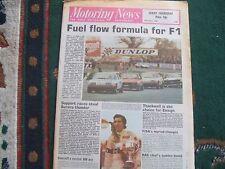 Motoring News 24 April 1980 AGBO MN & Plains Rally Silverstone Aurora F1