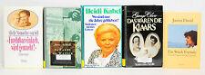 Bücherpaket: 5x Biographien, Das waren die Klaars/Heidi Kabel/Janina David/Furch