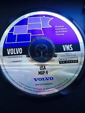 Volvo NAVTECH USA Map 4 North Central MN SD ND WY VNS Disc Navigation System CD