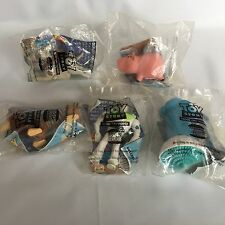 Disney Toy Story Burger King 5 PC Bo Peep Buzz Lightyear Slinky Dog Hamm New