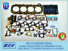 Nissan Patrol GU ZD30 ZD30DDTi VRS Head Gasket Kit + Head Bolt Set Y61