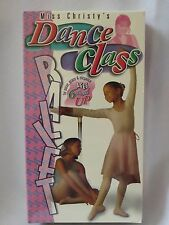 Miss Christy's Dance Class Ballet Beginner Dance Instruction NEW VHS Children