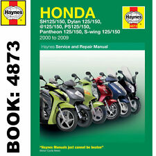Honda FES125 NES125 PES125 SE125 SH125 Scooters 2000-09 Haynes Workshop Manual
