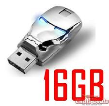 16GB Avenger IRONMAN Chrome iron man light up USB Flash Memory Disk/Drive