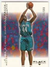 DERRICK COLEMAN GOLD 2000-01 UPPER DECK BLACK DIAMOND 8 SERIAL #/500 HORNETS