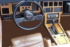Chevrolet Corvette Vette 1984 1985 1986 1987 1988 1989 C4 C-4 C 4 Dash Interior